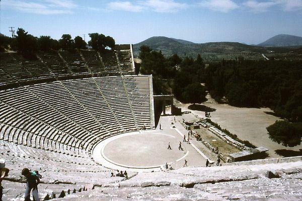 Epidauros – miasto medycyny i dramatu