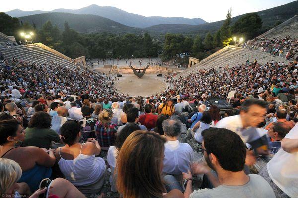 Sierpień w Epidauros